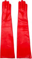 Manokhi - high shine gloves - women - Lamb Skin - 7