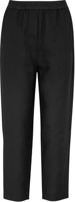 Viktoria & Woods Drifter Black Tapered-leg Trousers