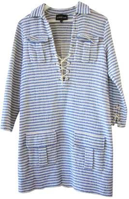 LOVE Stories Blue Cotton Dresses