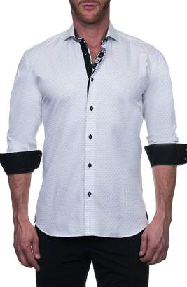 Maceoo Einstein Regular Fit Bea White Button-Up Shirt