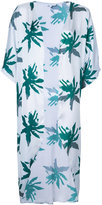 Sapia Simone - palm print beach cover-up - women - Polyamide - M