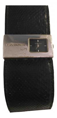 Pianegonda Black Silver Watches