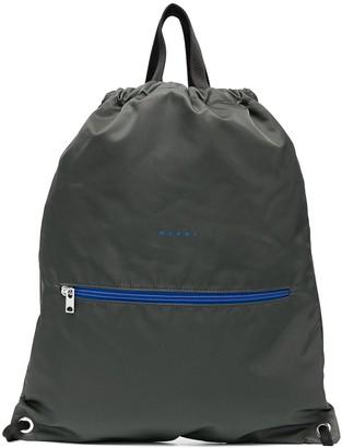 Marni Two-Tone Design Tote Bag