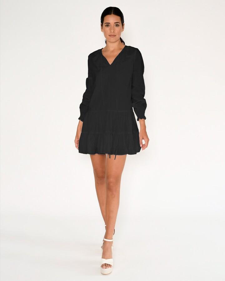 Nicole Miller Linen Shift Dress