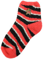 For Bare Feet Maryland Terrapins Sleep Soft Candy Striped Socks
