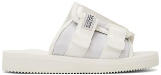 Suicoke White KAW-Cab Sandals