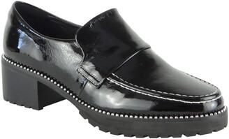 CAVERLEY Selina Block Heel Loafer