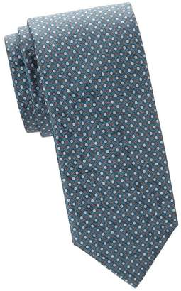Brioni Bird's Eye Silk Tie