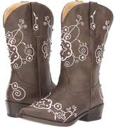 Roper Flower Sparkles Cowboy Boots