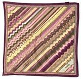 Missoni Striped Logo Pocket Square