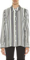 Equipment 'shiloh' Striped Silk Shirt