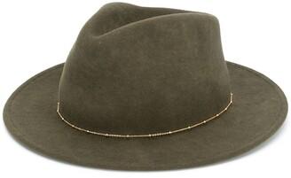 Van Palma Noe chain embellished hat