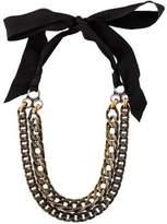 Lanvin Multistrand Curb Chain Necklace