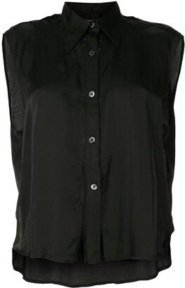 Ann Demeulemeester Slit-Embellished Shirt