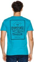 Quiksilver Double Lines Ss Tee