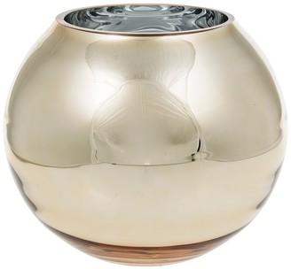 """Eightmood Gold Nemo Vase - 8"""" x 7"""""""