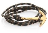 Miansai Brass Anchor Rope Bracelet
