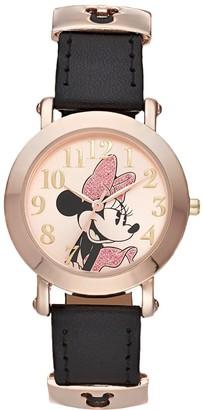 Disney Disney's Minnie Mouse Women's Sliding Icon Keepers Watch