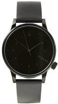 Frank & Oak Komono Winston Regal Watch In All Black