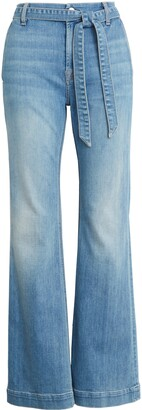 JEN7 by 7 For All Mankind Belted Flare Leg Jeans