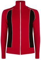 Valentino Wool-cashmere Zip-up Sweater