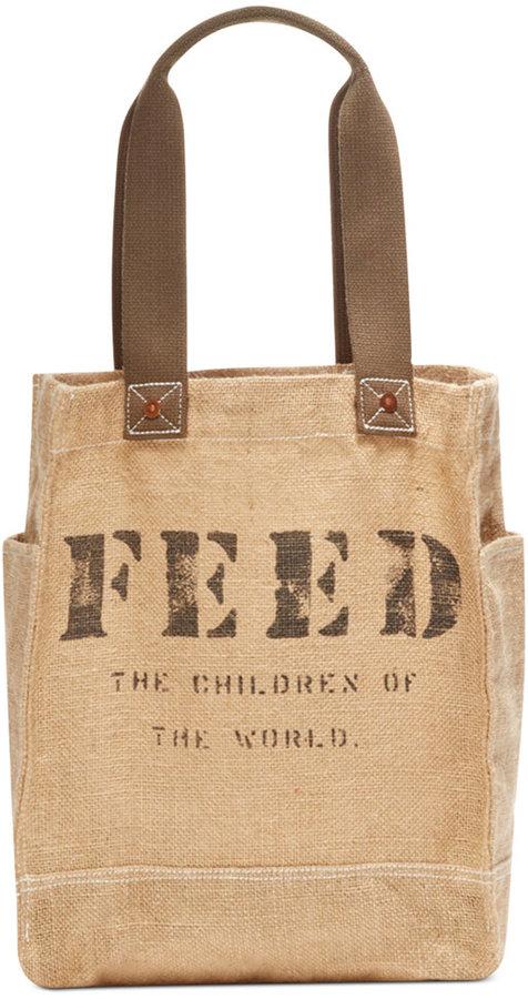 FEED Feed 50 Burlap Bag