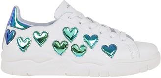 Chiara Ferragni Sneakers Blue Hearts