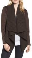 Lucky Brand Women's Faux Suede & Knit Jacket