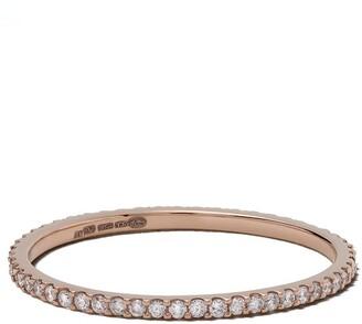 Solange White Bird 18kt rose gold diamond ring