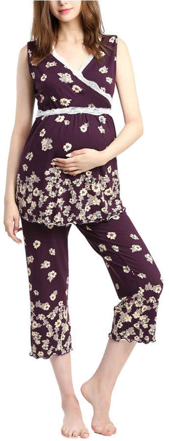 e96c92db4c0e5 Maternity Nursing Pajamas - ShopStyle