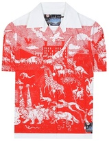 Prada Survival Utopia Printed Cotton Shirt