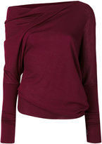 Tom Ford off-shoulder jumper - women - Silk/Cashmere - S