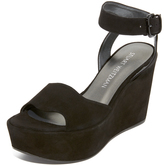 Stuart Weitzman Real Deal Wedge Sandals