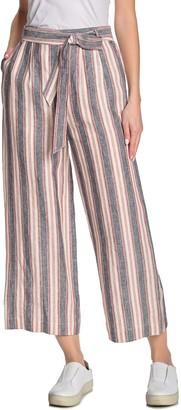 Frame Stripe Clean Pants