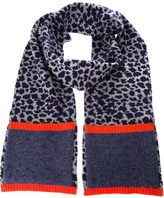 Marc by Marc Jacobs leopard print scarf