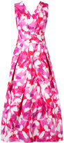 Milly crossback dress - women - Cotton/Viscose/Polyester/Spandex/Elastane - 0