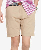 "Polo Ralph Lauren Men's 9.5"" Classic-Fit Flat-Front Chino Shorts"