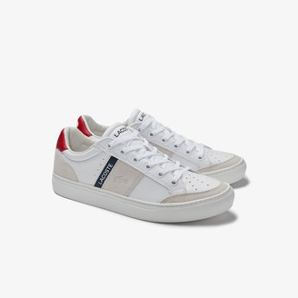 Lacoste Men's Courtline Traditional Leather Trainers