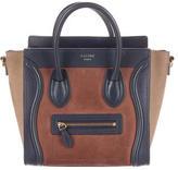 Celine Tricolor Nano Luggage Tote