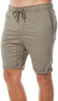 Swell Mens Jogger Short Green