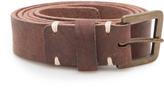 Pomandére Brass Leather Belt