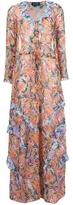 Saloni Izzie Maxi Print Dress