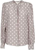 Marc Jacobs Polka Dot Print Top