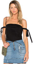 RtA Josephine Off Shoulder Top in Black