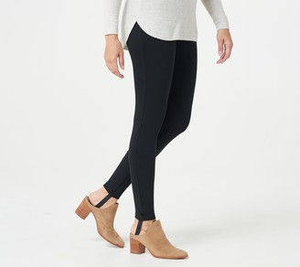 Isaac Mizrahi Live! Essentials Stirrup Leggings