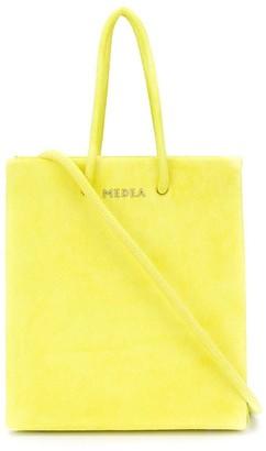 Medea Short textured tote bag