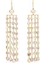 Pippa Small 18-karat Gold Sapphire Earrings
