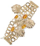 Rosantica Panico gold-tone acrylic charm bracelet
