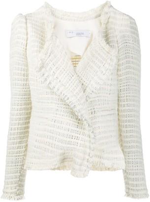 IRO Diana fitted tweed jacket