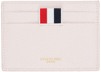 Thom Browne SSENSE Exclusive Pink Single Sided Card Holder
